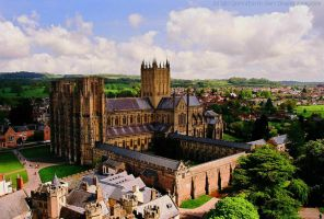 Wells Cathedral and Surrounds by EarthHart