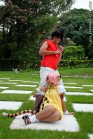 Leave my leg alone by Frannx