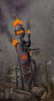 Incinerator by polawat