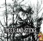 PS Brushes: Trees and Sticks by derangedhyena