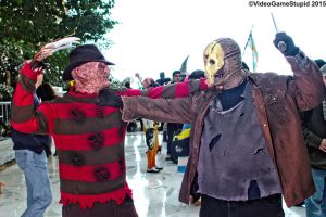Katsucon 2015 - Freddy VS Jason by VideoGameStupid