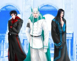 The Three Princes by Angelus-Tenebrae