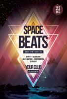 Space Beats Flyer by styleWish