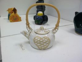 Heart Tea Pot by AllRealStacia