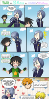 Mini comic: Raze and Shou by Enthriex