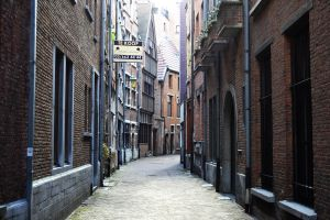 The restoration of the old part of Antwerpen by FrankAndCarySTOCK