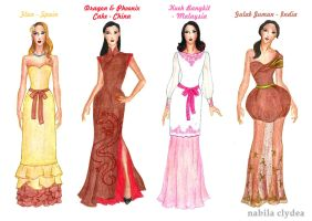 2014 Points Bomb Challenge: Evening Wear by nabilaclydea