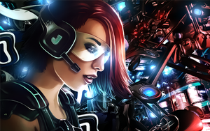 Cyber Punk by malekith72