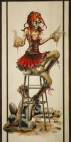 Zombie Beer Girl -FULL-SIZE- by Jay-Allen-Hansen