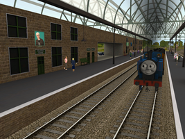 Thomas and the Thin Clergyman by wildnorwester