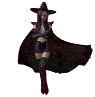 Request : Lil Witch Abygail 03 by Selficide-Stock