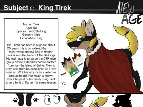 King Tirek Reference by Tabycat64