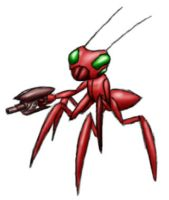 Giant Space Bugs - Ant minion by Metal-2