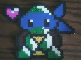 Chibi Leo-Perler Beads by HopeDiamond101