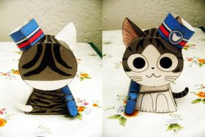 Chi's Sweet Home Papertoy - Papercraft by ValhallaAsgard