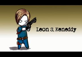 Leon Keneddy x3 by MayOrnelas