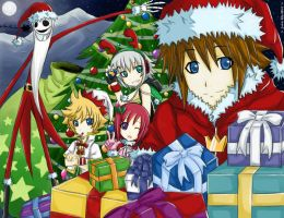 kh2: happy christmas by jurieduty