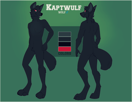 reference sheet for captwulf by SenimaSan