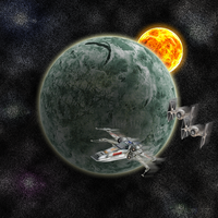 Space Chase by Eruantien-Fett