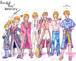 Ron Through The Ages by Gothicthundra