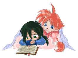 Fakir + Ahiru - Under blanket by Daffupanda