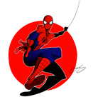 here comes Spiderman by TheOneChaos