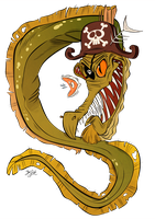 Moray Pirate Captain by Themrock