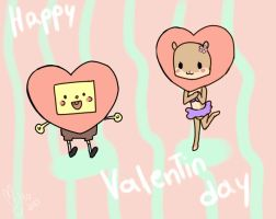 Happy Valentine's day Bob Esponja by Antyalan1
