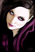 Amy Lee by endless-struggle