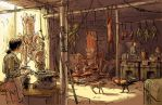 Morning at the Covered Market by povorot