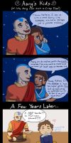 Aang the Crap Dad by witchofoz93