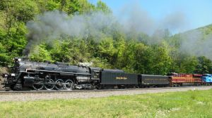 NKP 765 with Heritage Help by rlkitterman