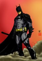 Grayson Batman - color work by sillue