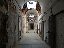Eastern State Penitentiary 66 by Dracoart-Stock