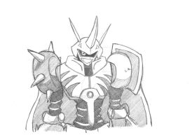 Another omega sketch by LadyBeelze