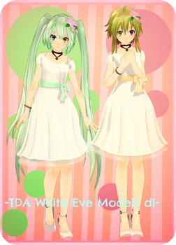 [920 Watchers] . : TDA WHITE EVE GUMI MIKU DL : . by Sushi-Kittie