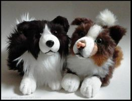 SOLD - Border Collies ~ Small floppy by goiku