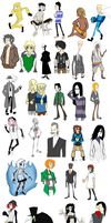 30 Days 30 Characters by Mr-Haitch