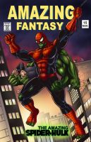 what if amazing fantasy 15 by spidey0318