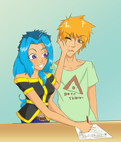 Ichigo is doing it wrong... by SillyWQ