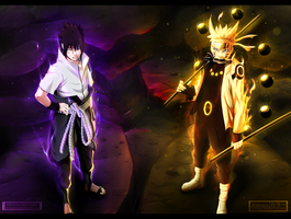 Naruto 673 - We will defeat you! Collab by DeviousSketcher