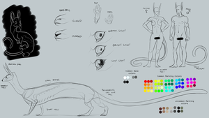 WIP Synth Species Ref by lambomill
