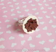 Cookies on a Plate Ring by CantankerousCupcake