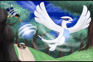 Lugia Transform by Hakunaro