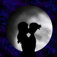A Kiss Under the Moon by LadyIlona1984