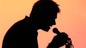 Damon Albarn Silhouette by moture