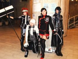 D.Gray-man Group of 4 by Lenalee-chwan