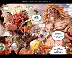 One Piece Chapter XXX - Attack on Titan by Abbadon82