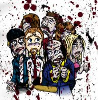 Shaun of the Dead by RiffThirteen