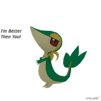 Snivy is Better Then Everyone by Bluedragon85